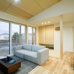 新潟市江南区楚川「ORGA LDKに設けた下屋と大きな窓で開放感抜群のガルバリウムハウス」住宅完成見学会