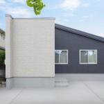 ハーバーハウスの施工事例 「STORY 広々10帖のタイルデッキを囲む!居心地の良いコートハウス」(STORY) ※外構はイメージ合成です。