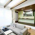 ハーバーハウスの施工事例 「勾配天井を採用した2階リビングの家」(ECOLOGIA)