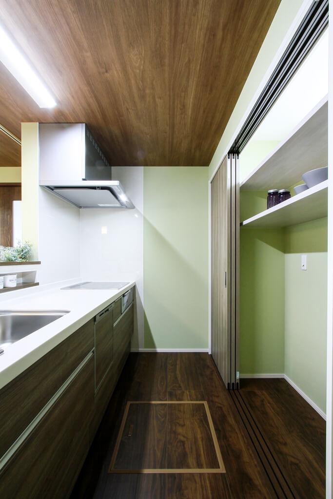 ハーバーハウスの新築 家づくり 事例「勾配天井を採用した2階リビングの家」