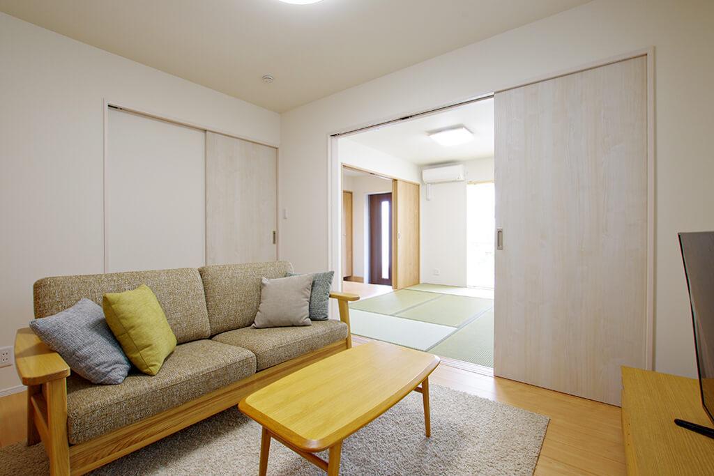 ハーバーハウスの新築 家づくり 事例「ZEPTO 暮らしに合わせて間取りを変えられるナチュラルハウス」