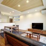 ハーバーハウスの施工事例 「LDKや寝室に畳を取り入れた和モダンな家」