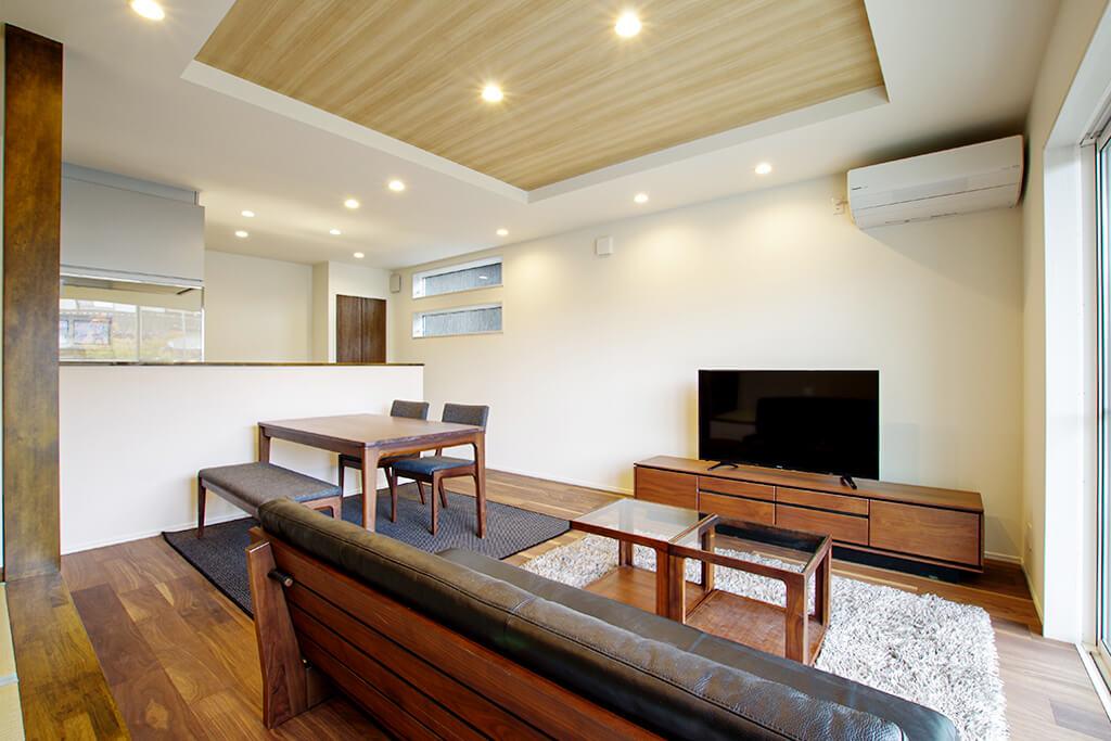 ハーバーハウスの新築 家づくり 事例「LDKや寝室に畳を取り入れた和モダンな家」