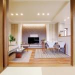 新潟市西区新通西「折り上げ天井と造作TVボードで空間を演出した家」住宅完成見学会