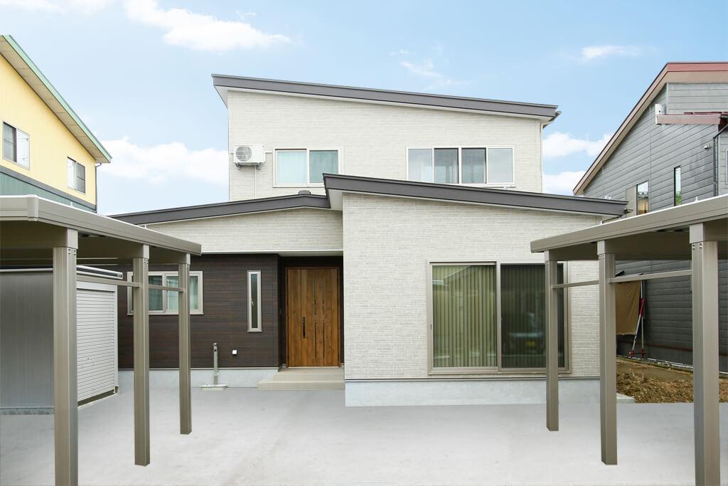 ハーバーハウスの新築 家づくり 事例「MIRAI ウッドデッキのある共有型二世帯住宅」