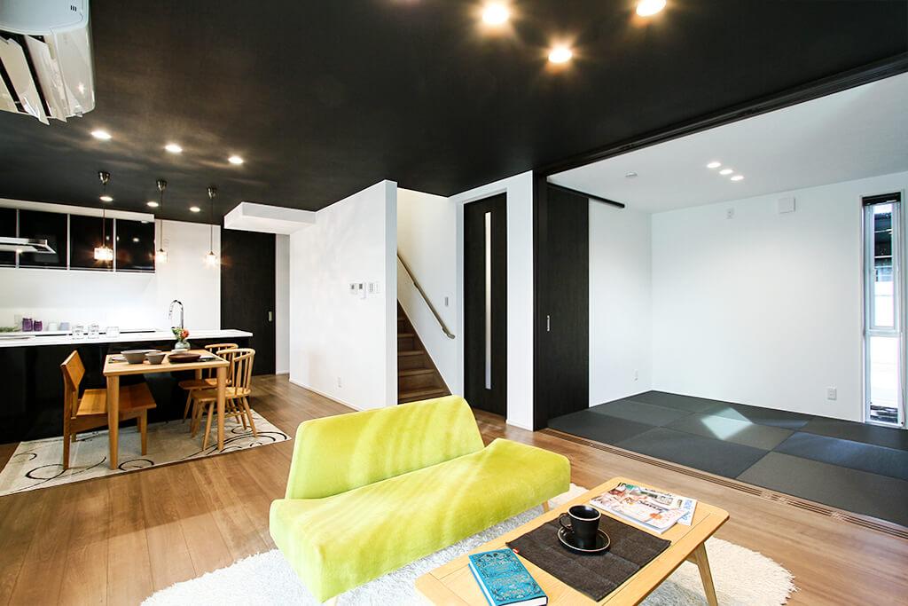 ハーバーハウスの新築 家づくり 事例「自然落雪で冬も安心!BBQもできるタイルテラスのある家」(ORGA)