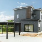 ハーバーハウスの施工事例 「スタイリッシュモダンなインテリアのオープン階段の家」(ECOLOGIA)