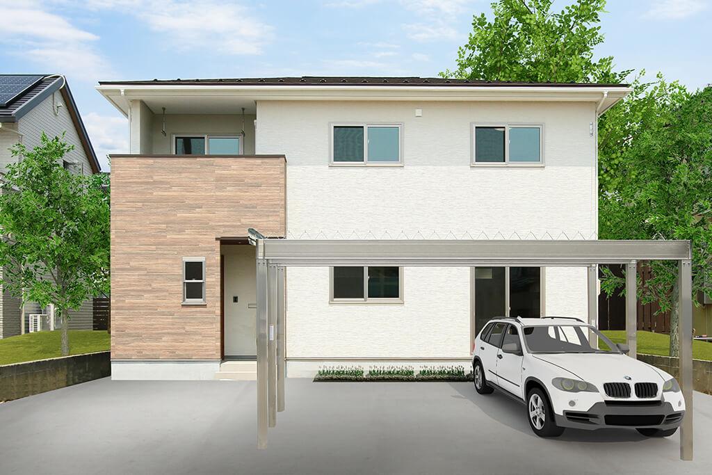 ハーバーハウスの新築 家づくり 事例「キッズルームのあるナチュラルテイストの家」