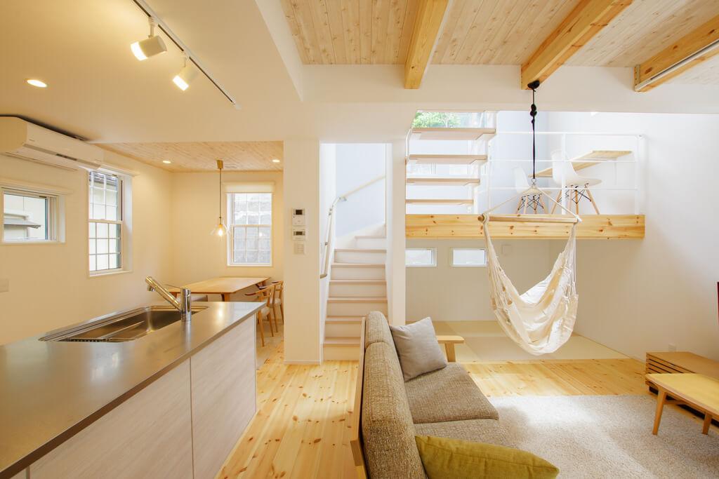 糸魚川市京ヶ峰「MIRAI スキップフロアのある共有型二世帯住宅」住宅完成見学会 ハーバーハウス上越支店