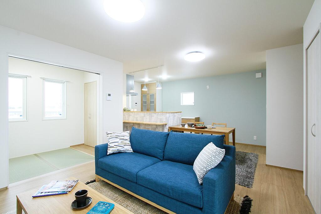 ハーバーハウスの新築 家づくり 事例「テレワークにも対応可能!書斎があるナチュラルテイストの家」