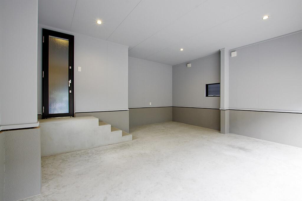 ハーバーハウスの新築 家づくり 事例「REVELTA 電動シャッター&玄関直結の動線が便利なガレージハウス」