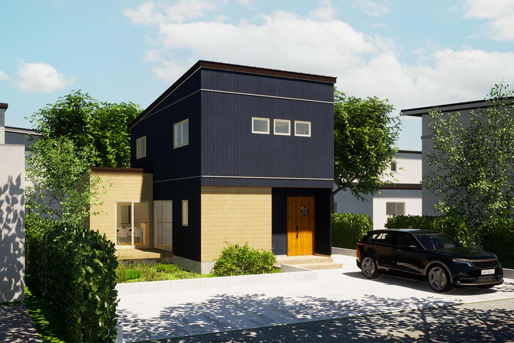 アウトドアリビングや手洗い動線で快適な暮らし!機能性とデザイン性を兼ね備えた地震にも強い家