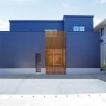 新潟市東区船江町「目隠しルーバーと勝手口が便利な中庭のあるコートハウス」住宅完成見学会