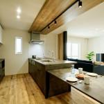 新潟市中央区新和「キッチンがインテリアの主役の家」住宅完成見学会