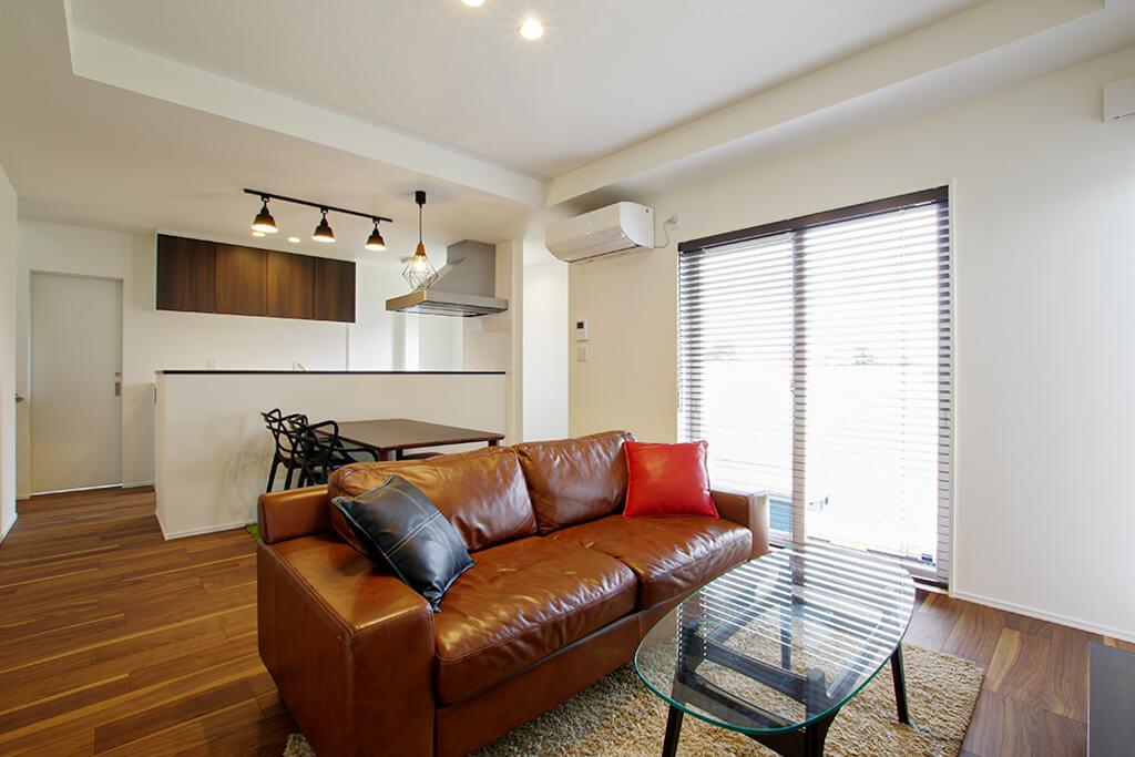 ハーバーハウスの新築 家づくり 事例「ORGA シーンに合わせてゆったりくつろげる快適な家」