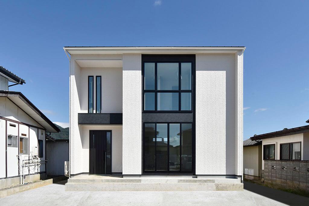 ハーバーハウスの新築 家づくり 事例「多面採光のLDKで清々しい暮らしを叶えたモダンハウス」